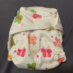 Cloth diaper one size girl